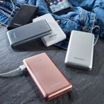 INTENSO Mobile Chargingstation Powerbank,  SLIM, 10000 mAh, sort (7332530)