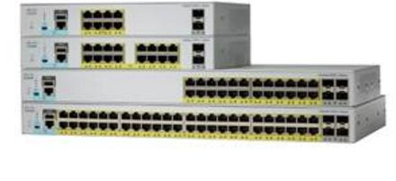 CISCO Catalyst 2960L Smart Managed 16p Gig PoE 2x1G SFP LAN Lite (WS-C2960L-SM-16PS)