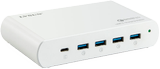 DELTACO 110W 5-port QC3.0 Laptop USB-C Charging station
