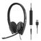 SENNHEISER SC 165 3.5MM , USB WIRED BINAURAL INLINE CALL CONTROL MS