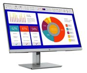 HP EliteDisplay E243p 60.4cm 23.8inch IPS FHD Monitor Sure View G3 Privacy HDMI DisplayPort VGA 2xUSB 3.0 pivot 3y. War. (5FT13AA#ABB)