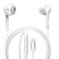 4smarts In-ear headset MFi Lightning Hvid
