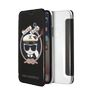 KARL LAGERFELD KARL PU BOOKTYPE CASE  KARL SAILOR BLACK IPX