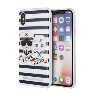 KARL LAGERFELD KARL - TPU case - Sailors - Stripes - IPX (KLHCPXKSS)