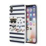 KARL LAGERFELD TPU case - Sailors - Stripes - IPX