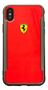 FERRARI - SF - RACING SHIELD - PRINTED ALUMINIUM EFFECT - RED IPX