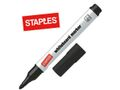 STAPLES Whiteboardpen STAPLES 1,5-3 sort