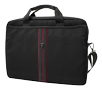 FERRARI SCUDERIA COMPUTER BAG BLACK AND RED PIPING 13""