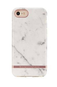 Richmond & Finch & Finch White Marble, rose gold details, for iPhone 6/6s/7/8 (IP678-116)