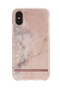 Richmond & Finch Finch Pink Marble case, Rose gold details, iPhone X/XS (IPX-114)