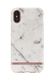 Richmond & Finch & Finch White Marble, iPhone XS Max case, rose gold details