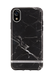 Richmond & Finch Black Marble, iPhone XR case, silver details