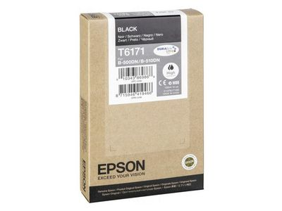 EPSON high cap ink black (C13T617100)