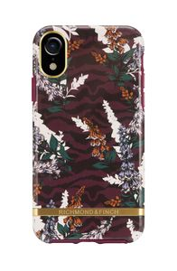 Richmond & Finch Floral Zebra case, Gold details, iPhone X (IPX-404)
