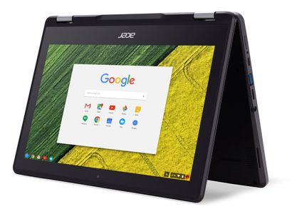 "ACER R752TN-C3NV - 11.6"" Multi-touch HD IPS LCD - Intel® Celeron® processor N4000 - 4 GB Memory - eMMC 32GB - Wacom Stylus Pen  CHROME (NX.H93ED.002)"