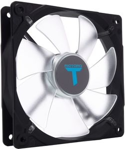 RIOTORO Case acc Fan 12cm CrossX bl LED (FB120)