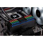 CORSAIR memory D4 3200 32GB C16 Corsair Dom K4 4x8GB, 1.35V,  Dominator Platinum RGB Black Hsp (CMT32GX4M4C3200C16)