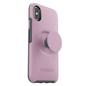 OTTERBOX OTTER + POP SYMMETRY APPLE IPHONE X/XS - MAUVEOLOUS - PINK ACCS (77-61654)