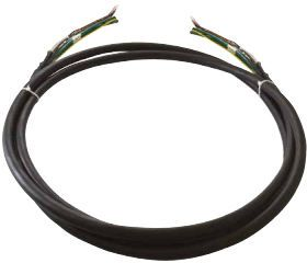 VIDEOTEC Unarmoured black cable, avail. (CMSN2200)