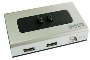 ST LAB USB 2.0 2A : 1B Signal Switch (G-100)
