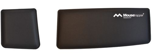 MOUSETRAPPER wrist rest for advance 2.0 black/wh (TB212)