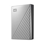 WESTERN DIGITAL External HDD WD My Passport Ultra for Mac 2.5'' 2TB USB3.1 Silver Worldwide (WDBKYJ0020BSL-WESN)