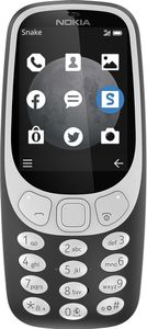 "NOKIA 3310 3G Charcoal, 2.4 "" (A00028740)"