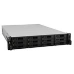 SYNOLOGY RS3617XS+ 2U 12 BAY 2.2 GHZ SC 4XGBE 2XUSB3.0 8GB DDR4 IN (RS3617XS+)
