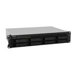 SYNOLOGY Bundle RS1219+ 8-Bay NAS-Rackmount SATA QuadCore 2.4 GHz 2GB RAM DDR3 up to 16GB RJ-45 4x1GbE + ext.warranty 2 years (EW202+RS1219+)