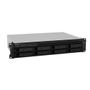 SYNOLOGY Bundle RS1219+ 8-Bay NAS-Rackmount SATA QuadCore 2.4 GHz 2GB RAM DDR3 up to 16GB RJ-45 4x1GbE + ext.warranty 2 years