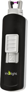 INOLIGHT CL 4, compact arc lighter, 100 ignitions,  micro USB, black (555-400)