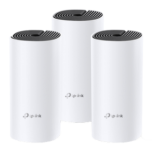 TP-LINK Smart Home TP-Link Deco M4 3-Pack AC1200 Whole-Home Mesh Wi-Fi (DECO M4(3-PACK))