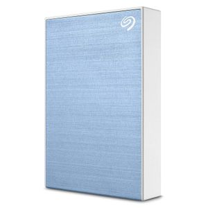 SEAGATE BackupPlus Portable 4TB HDD USB 3.0 / USB 2.0 compatible with Windows and MAC light blue (STHP4000402)