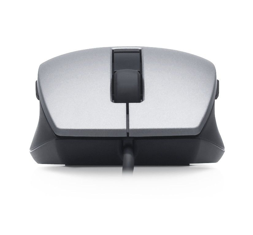 4d59028c282 DELL Laser Scroll Mouse USB, 6 buttons, silver-svart | Comega Data