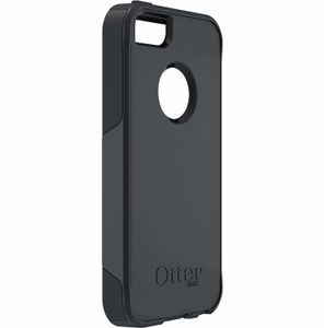 OTTERBOX Commuter Series - Eske for mobilitelefon - silikon, gummi - svart - for Apple iPhone 5 (77-23330)