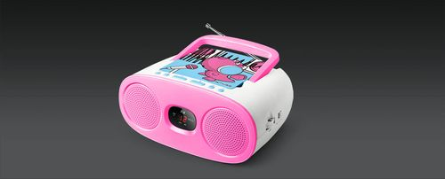 MUSE Portable Radio CD player (M-20KDG)