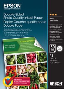 EPSON Paper/ Double-Sided Photo A4 20sh 120gm2 (C13S400059)