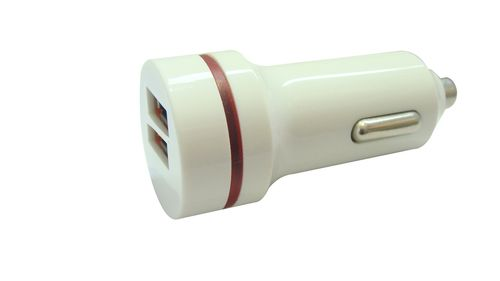 GRATEQ 2xUSB CAR CHARGER 3.1A (84512)