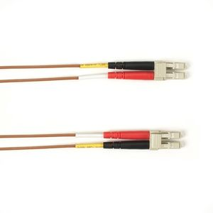 BLACK BOX FO Patch Cable Color Multi-m OM2 - Brown LC-LC 30m Factory Sealed (FOLZH50-030M-LCLC-BR)
