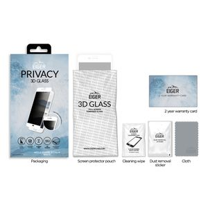 EIGER 3D Privacy SP Glass iPhone (EGSP00162)