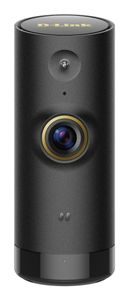 D-LINK Mini HD Wi-Fi Camera HD 1280x720 H.264 Video Compression One way audio Built in ICR for day and night application (DCS-P6000LH)