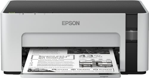 EPSON EcoTank ET-M1100 - Printer - monokrom - blækprinter - A4/Legal - 1440 x 720 dpi - op til 32 spm - kapacitet: 150 ark - USB 2.0 (C11CG95402)