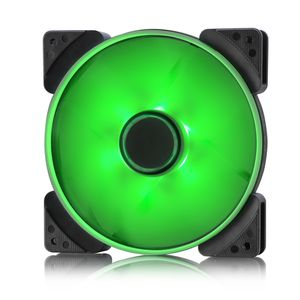 FRACTAL DESIGN Prisma SL-14 Green 140mm Green LED fan (FD-FAN-PRI-SL14-GN)