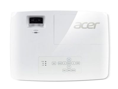 ACER X1325Wi - DLP Projector - 3600 ANSI Lumens - Ceiling-mounted - White (MR.JRC11.001)