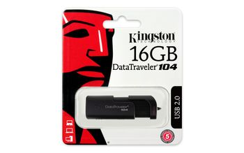 KINGSTON 16GB USB 2.0 DataTraveler 104 (DT104/16GB)