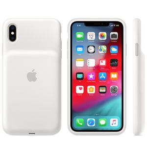 APPLE Smart Battery Case iPhone Xs Max Hvit (MRXR2ZM/A)