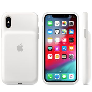 APPLE Smart Battery Case iPhone Xs Hvit (MRXL2ZM/A)
