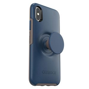 OTTERBOX OTTER + POP SYMMETRY APPLE IPHONE X/XS - GO TO BLUE - BLUE ACCS (77-61653)
