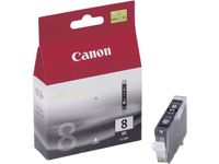 CANON CLI-8BK ink cartridge black standard capacity 13ml 2.795 pages 1-pack (0620B001)