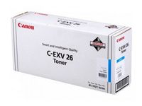 CANON C-EXV 26 toner cartridge cyan standard capacity 6.000 pages 1-pack (1659B006)